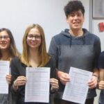 Intermediate Exam Successes on Armistice Day